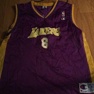 Vintage Kobe Bryant champion jersey